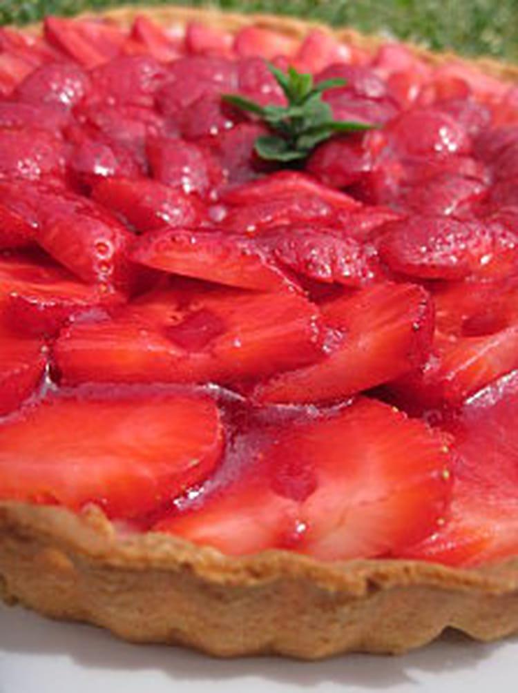 recette de tarte aux fraises ricotta mascarpone la recette facile. Black Bedroom Furniture Sets. Home Design Ideas