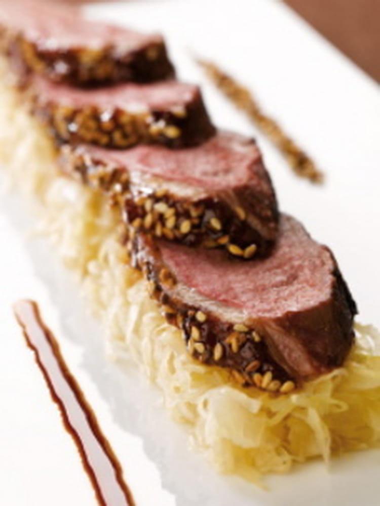 Recette de choucroute et magret de canard laqu la - Comment cuisiner un magret de canard a la poele ...