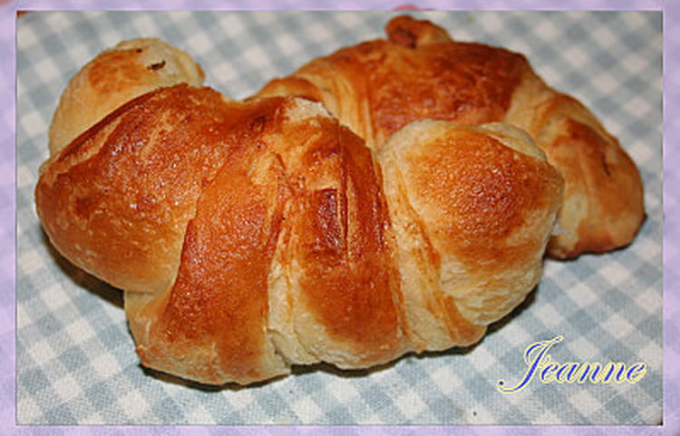 recette croissants au beurre friandises biscuits. Black Bedroom Furniture Sets. Home Design Ideas