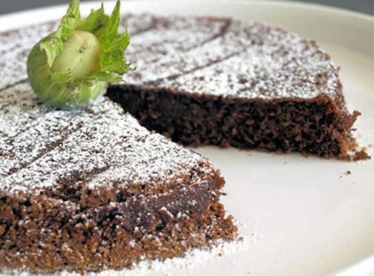Recette gateau chocolat noisette marmiton