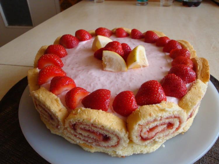 dessert aux fraises facile