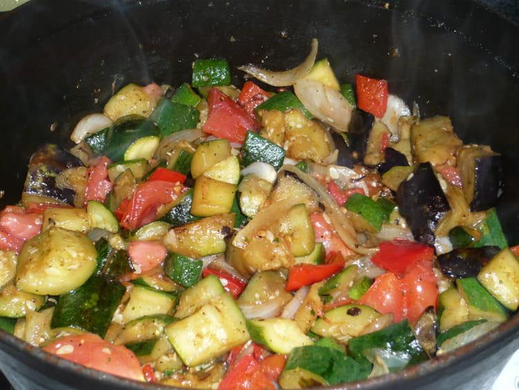 La vraie ratatouille la recette facile - Cuisiner la ratatouille ...