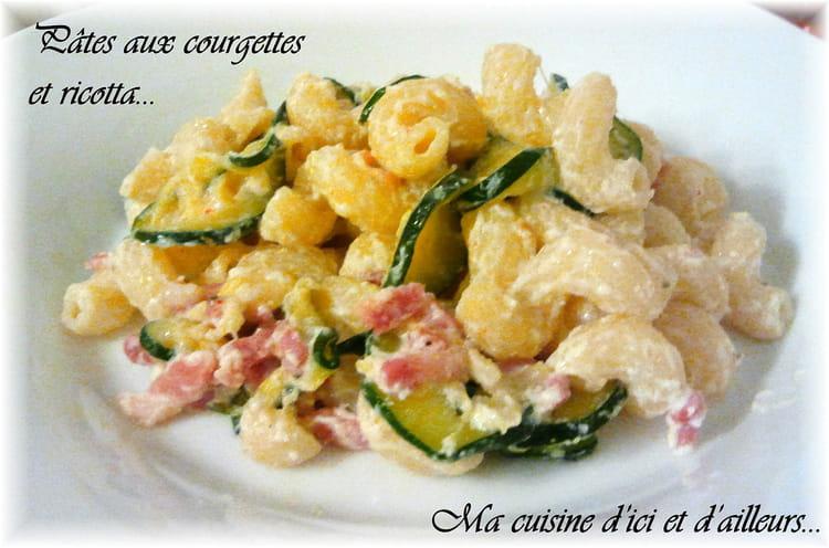 recette de p 226 tes aux courgettes et ricotta la recette facile