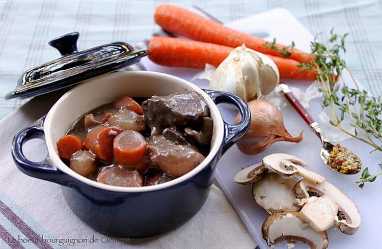 B uf bourguignon bio la recette facile - Cuisiner le boeuf bourguignon ...