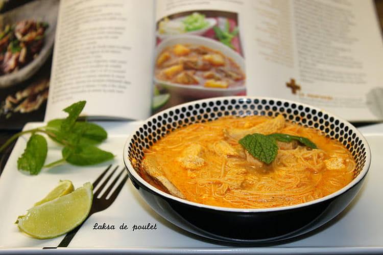 soupe au curry et aux vermicelles de riz recette malaisienne