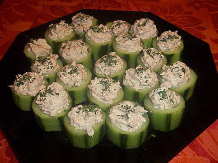 Canapes aperitif facile recette canap pour l 39 ap ritif for Canape aperitif marmiton