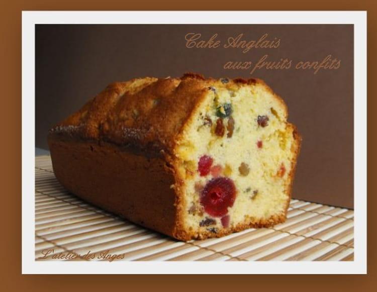 Recette Facile Cake Aux Fruits Confits