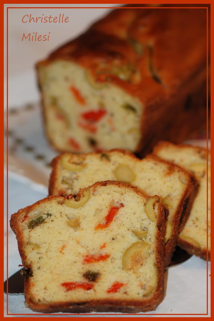 Recette De Cake Aux Olives Et Basilic
