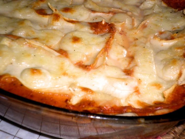 lasagne tomate et basilic
