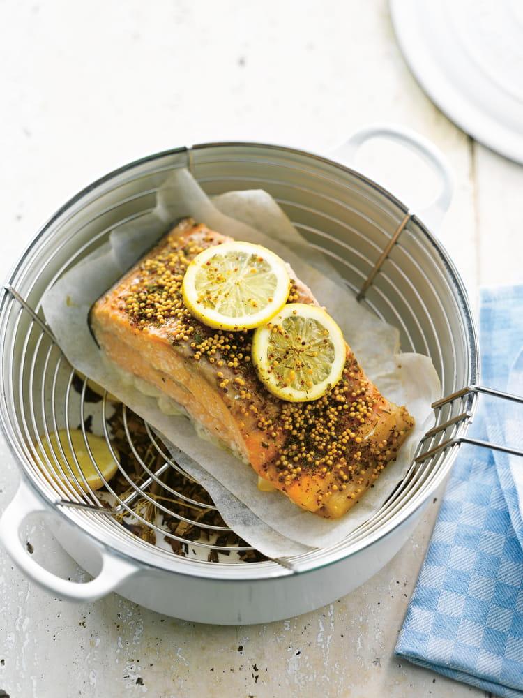 recette de saumon fum en cocotte la recette facile. Black Bedroom Furniture Sets. Home Design Ideas