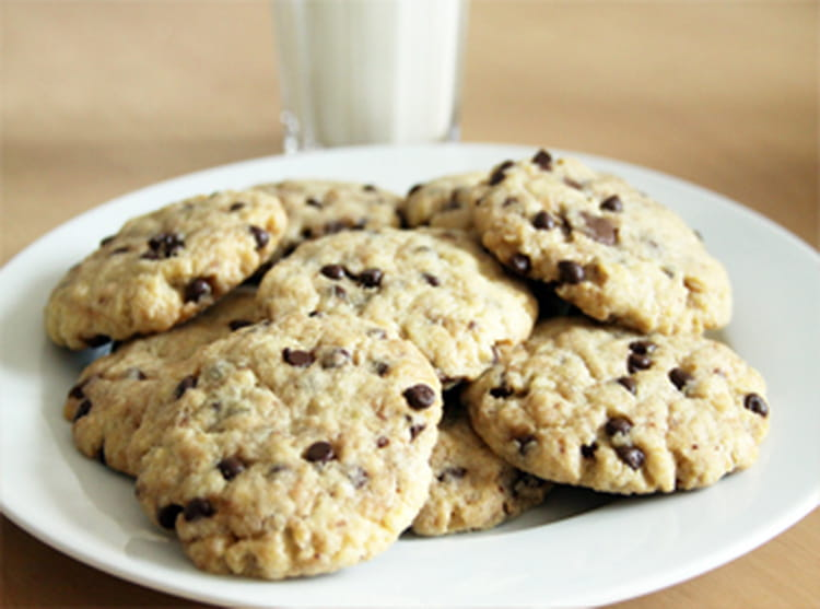 Recette de cookies moelleux vanille chocolat la recette - Recette cookies chocolat moelleux ...
