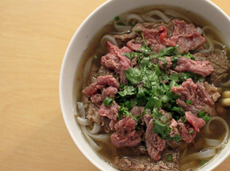 Recette de pho soupe de boeuf la recette - Cuisiner basse cote de boeuf ...