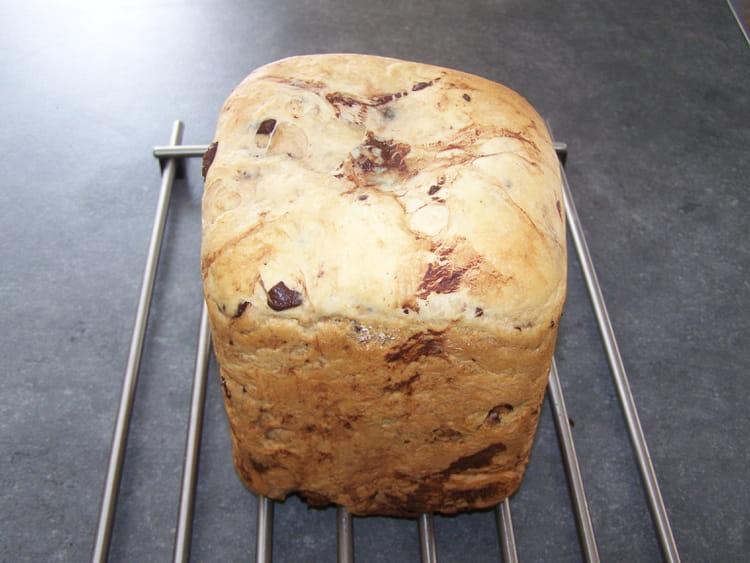 Recette de brioche sans oeuf aux p pites de chocolat la - Brioche machine a pain ...