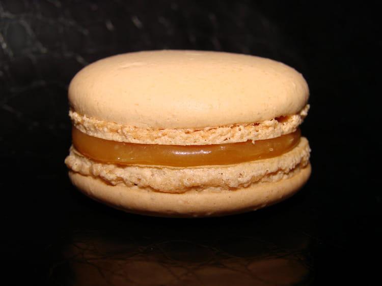 macarons au caramel beurre sale