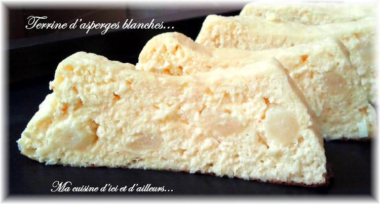 Recette de terrine d 39 asperges blanches la recette facile - Cuisiner des asperges blanches ...