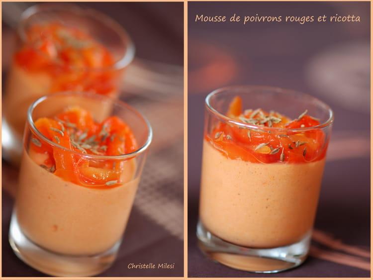 recette mousse de poivron