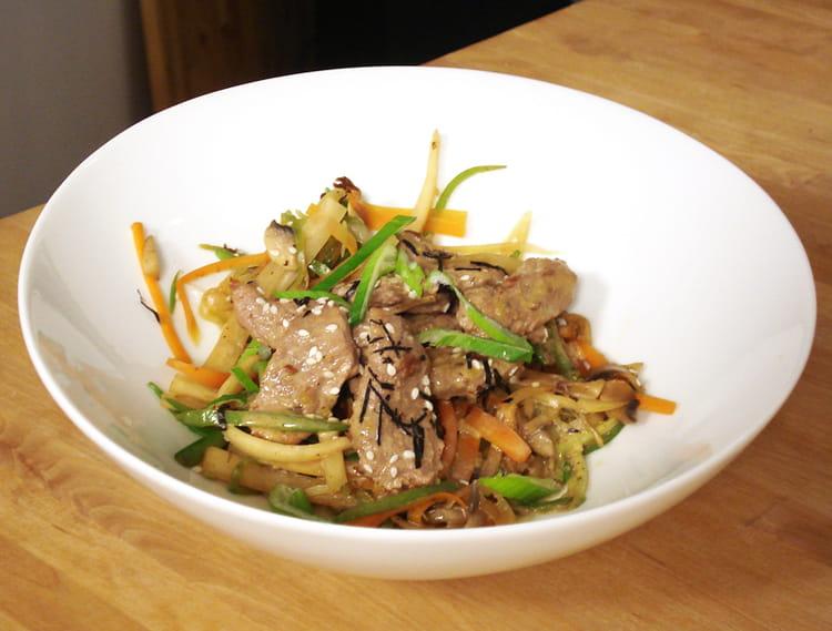 Recette de blanquette de veau express japonisante la recette facile - Blanquette de veau express ...
