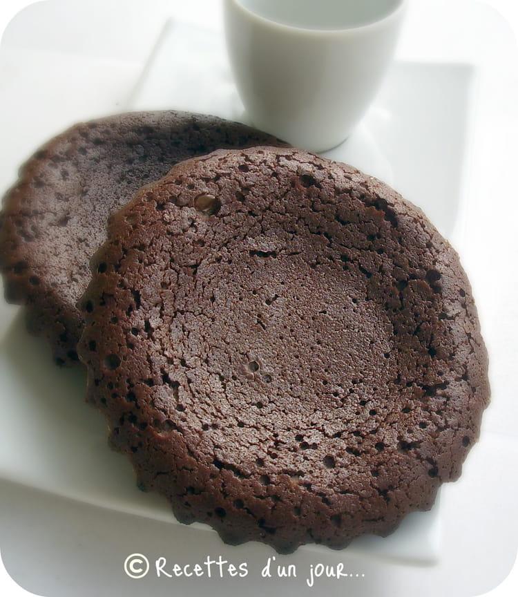 recette de biscuits coulants au chocolat la recette facile. Black Bedroom Furniture Sets. Home Design Ideas