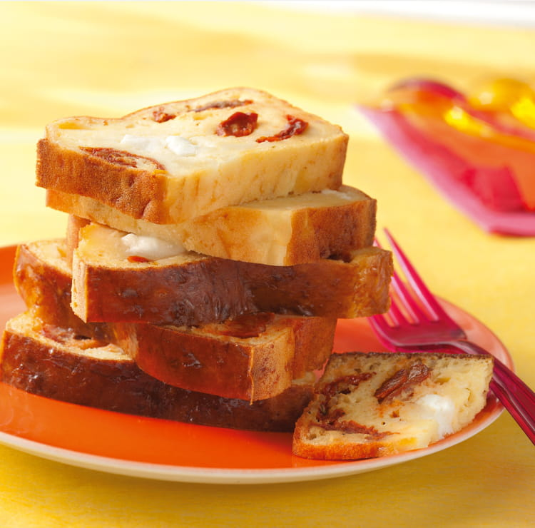 Cake Tomates Sechees Et Chorizo
