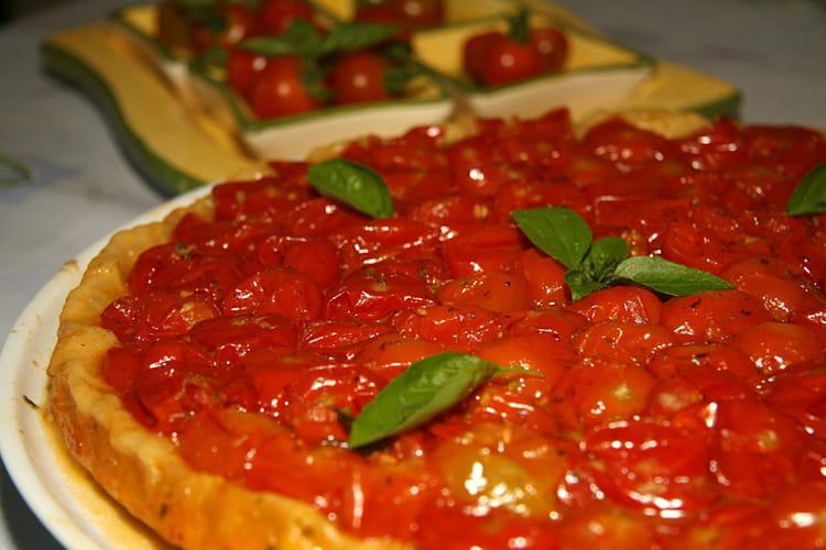 recette tatin de tomates cerises tartare. Black Bedroom Furniture Sets. Home Design Ideas