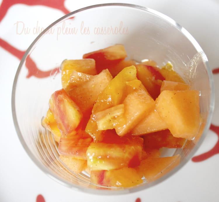 Recette de salade de tomates ananas past que et melon en 2 versions sal e ou sucr e la - Salade de pasteque ...