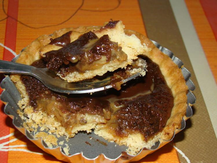 Recette de tartelettes banane chocolat confiture de lait la recette facile - Recette avec confiture de lait ...