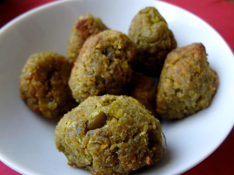 Recette de falafels aux pois chiches f ves et carottes - Cuisiner les feves fraiches ...