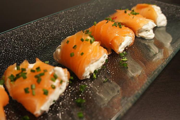 recette de roul s au saumon et fromage frais la recette
