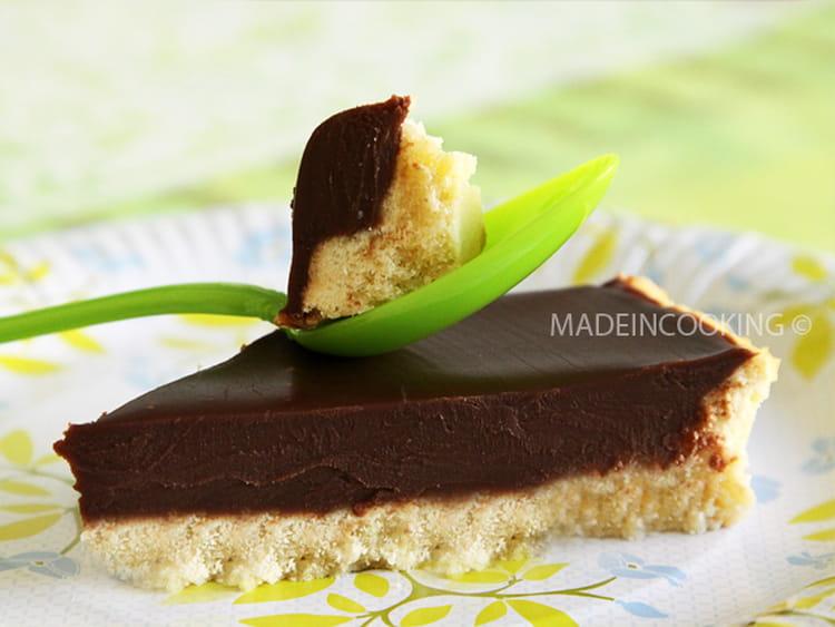 recette de tarte au chocolat au lait la recette facile. Black Bedroom Furniture Sets. Home Design Ideas