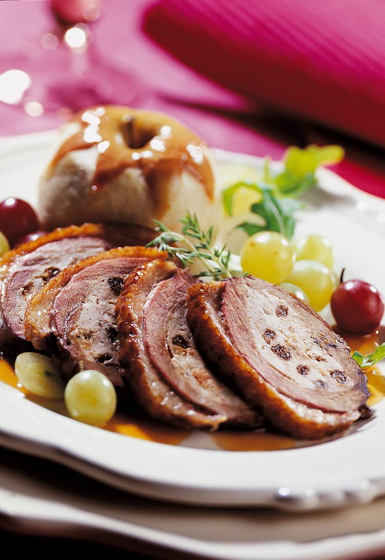 Recette de magret de canard farci aux fruits la recette - Cuisiner magrets de canard ...