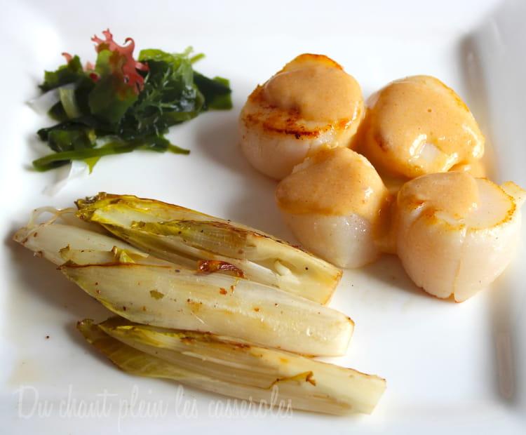 Recette de noix de saint jacques basse temp rature espuma - Cuisiner le corail des coquilles saint jacques ...