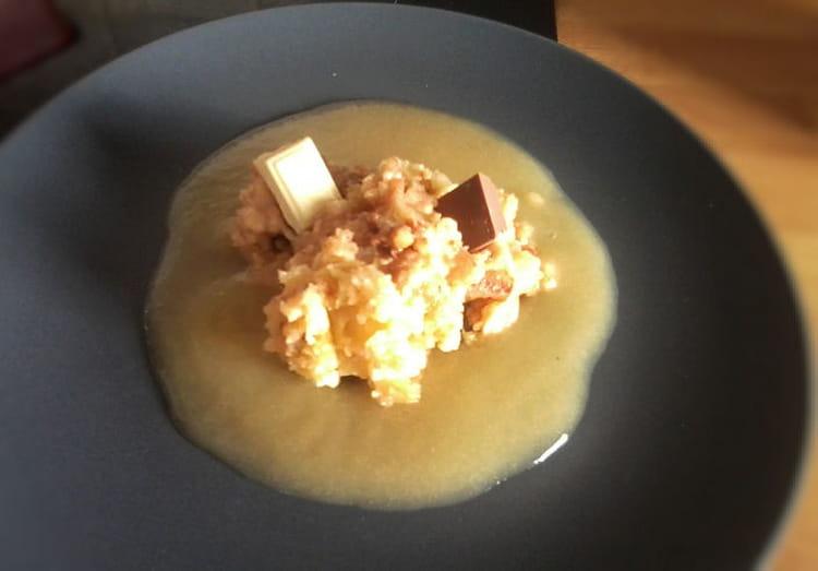 Recette de crumble pomme poire et chocolat la recette facile - Maison de la pomme et de la poire ...