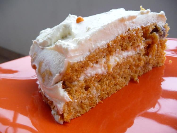 Recette de carrot cake avec gla age philadelphia et - Cuisiner avec du mascarpone ...