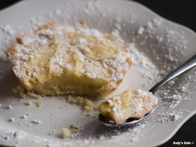 recette de tarte sabl 233 e aux pommes et sa cr 232 me au citron la recette facile