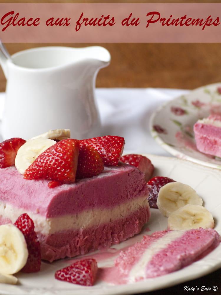 Recette de glace aux fruits du printemps la recette facile - Recette de glace facile ...