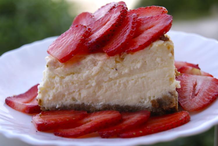 Recette de cheesecake aux fraises fromage blanc et - Cuisiner avec du mascarpone ...