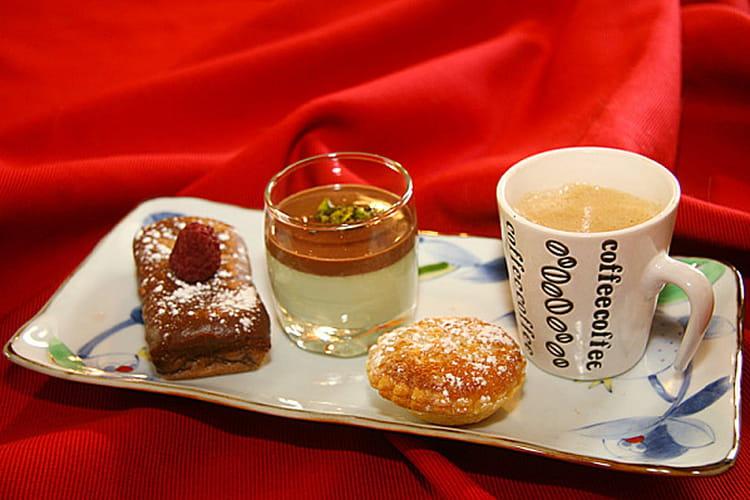 Recette de caf gourmand la recette facile - Recette de mini dessert gourmand ...