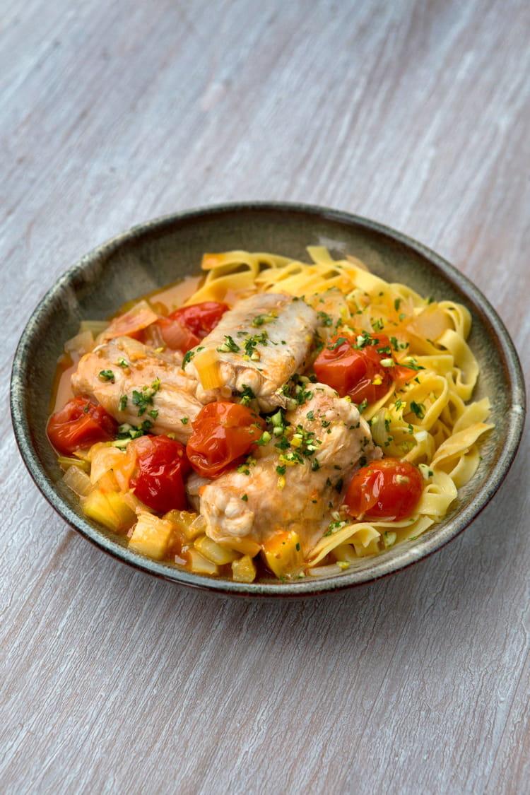 Recette de roussette fa on osso bucco la recette facile for Osso bucco cuisine et vins de france