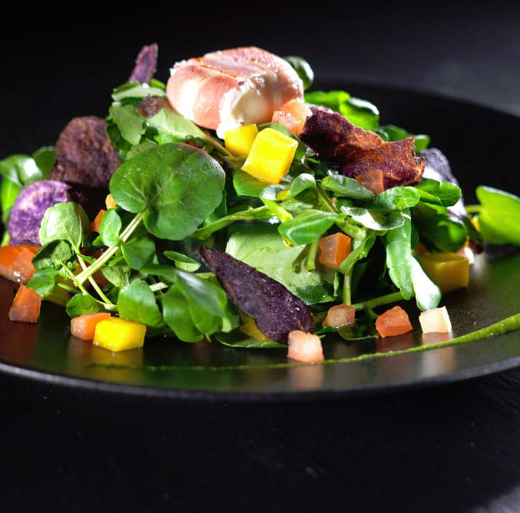 recette de salade de cresson estivale la recette facile. Black Bedroom Furniture Sets. Home Design Ideas
