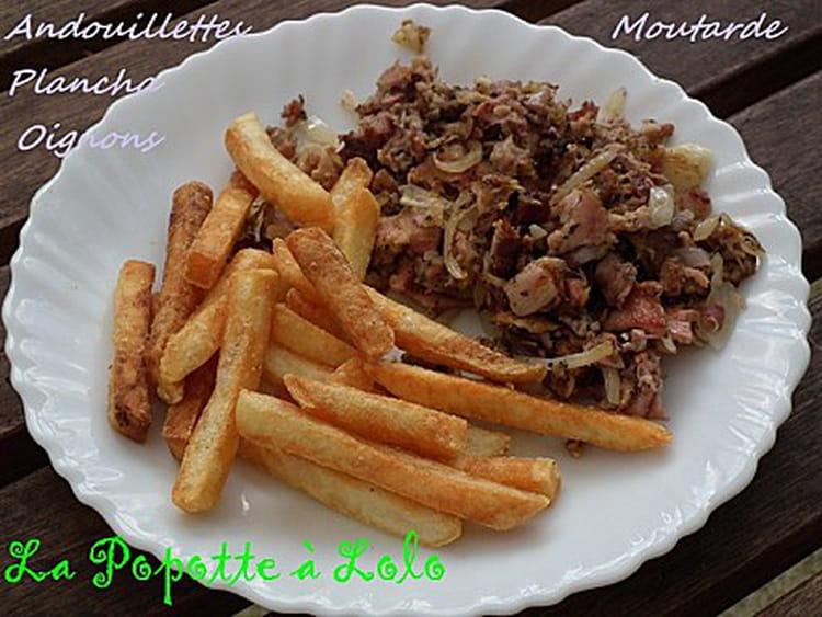 Recette andouillettes la plancha la recette facile - Cuisiner des andouillettes ...
