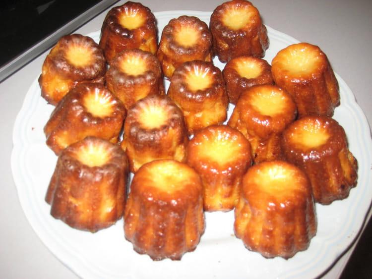 Recette de cannel s bordelais inratables la recette facile - Canneles bordelais recette originale ...