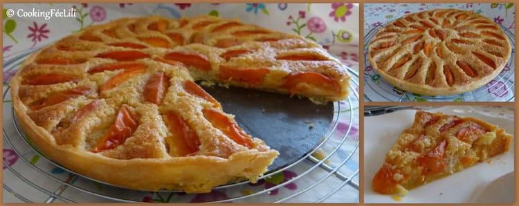 Recette de tarte amandine aux abricots la recette facile - Recette de tarte aux abricots ...