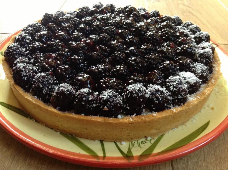 recette de tarte aux m res cr me p tissi re et nappage aux fruits la recette facile. Black Bedroom Furniture Sets. Home Design Ideas