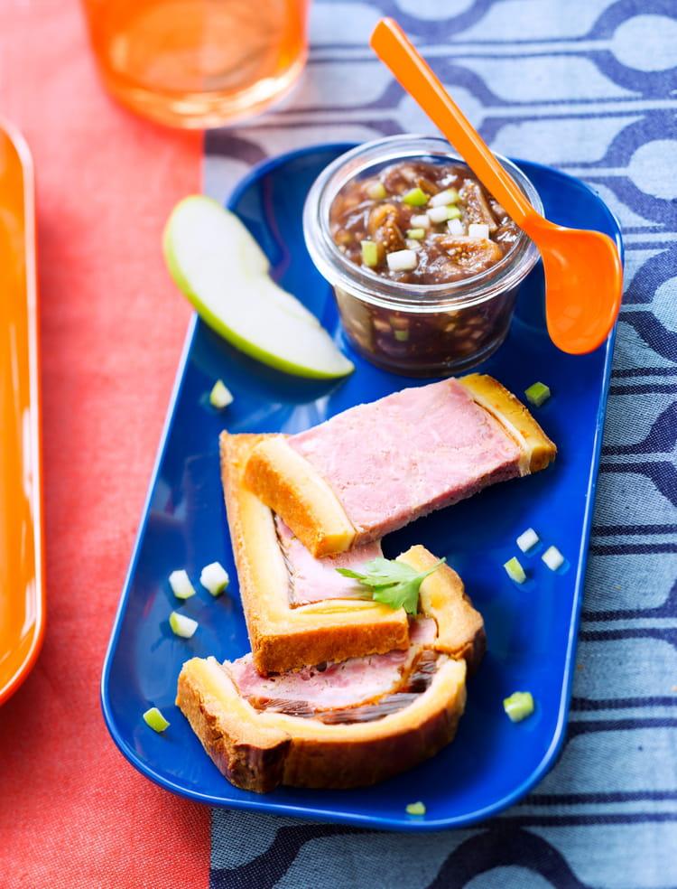 Recette de Pâté en croûte et son chutney pommes-figues : la recette ...