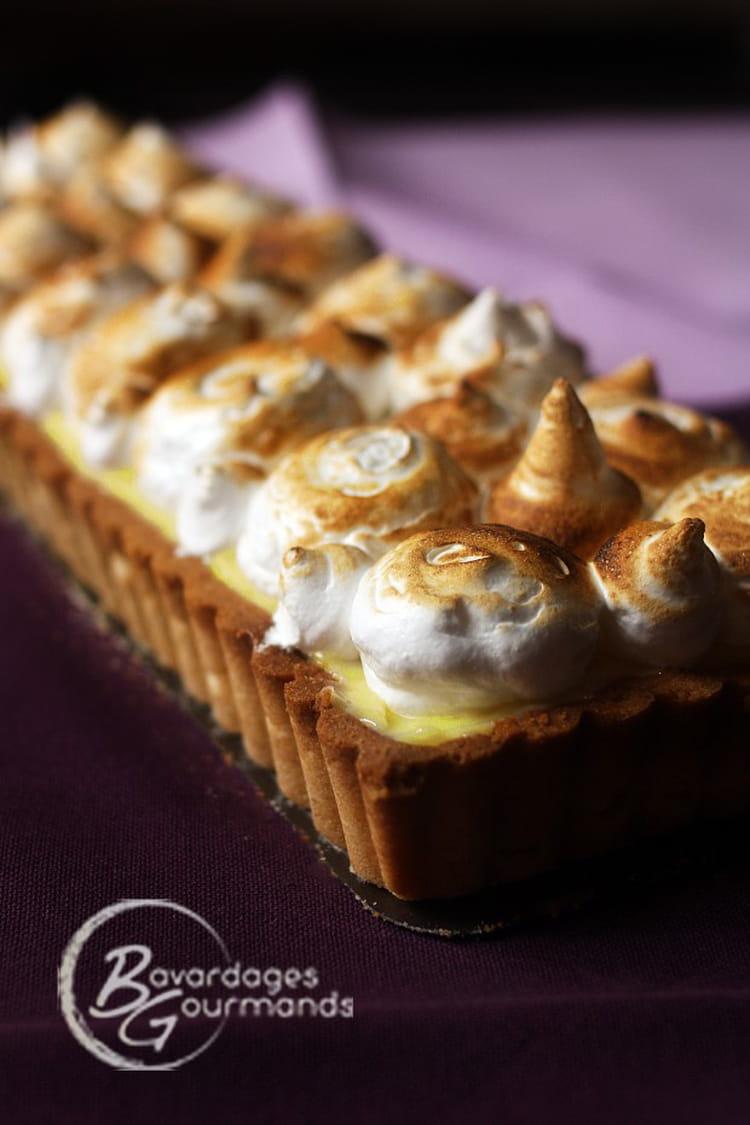 Recette de tarte au citron meringu e fa on pierre herm la recette - Recette tarte citron meringuee ...