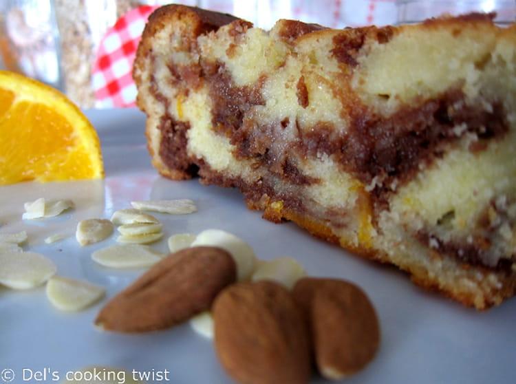 recette de cake ultra moelleux l 39 orange et au nutella. Black Bedroom Furniture Sets. Home Design Ideas