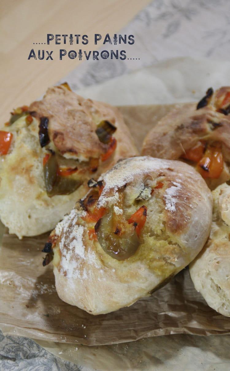 Petits pains aux poivrons confits la recette facile - Petite recette de cuisine ...