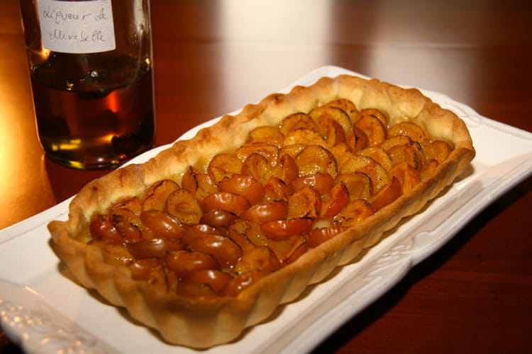 recette tarte aux mirabelles pour 8 personnes. Black Bedroom Furniture Sets. Home Design Ideas