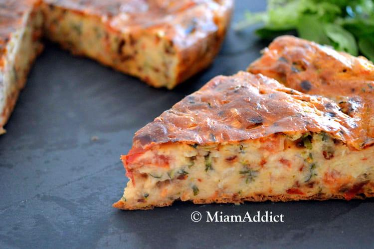 Recette Cake Poivron Chevre Courgette