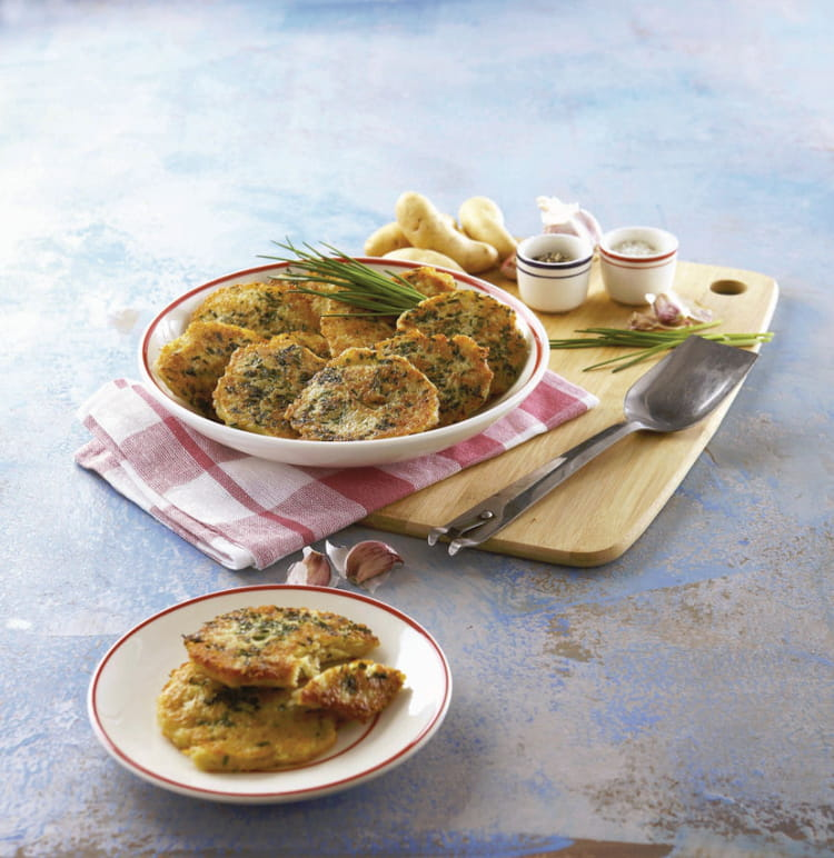 Recette de galettes de ratte du touquet au gouda la recette facile - Cuisiner la ratte du touquet ...
